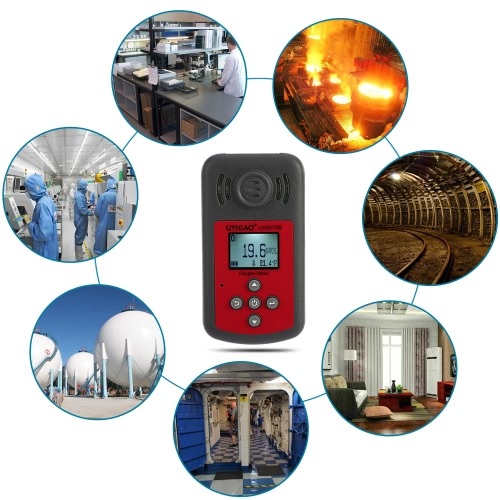 UYIGAO Brand New Handheld Portable Automotive Mini Oxygen Meter High Precision O2 Gas Tester Monitor Detector with LCD Display SouTest Equipment &amp; Tools<br>UYIGAO Brand New Handheld Portable Automotive Mini Oxygen Meter High Precision O2 Gas Tester Monitor Detector with LCD Display Sou<br>