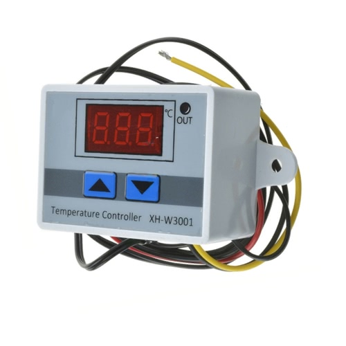 XH-W3001 Digital LED Pre-wire Cool/Hot Temperature Controller Thermostat Control Switch Probe with Sensor 220V/24V/12VTest Equipment &amp; Tools<br>XH-W3001 Digital LED Pre-wire Cool/Hot Temperature Controller Thermostat Control Switch Probe with Sensor 220V/24V/12V<br>