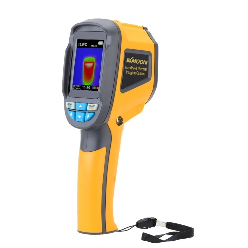 KKmoon Professionelle tragbare Wärmebildkamera Tragbare Infrarot-Thermometer IR-Wärmebildkamera