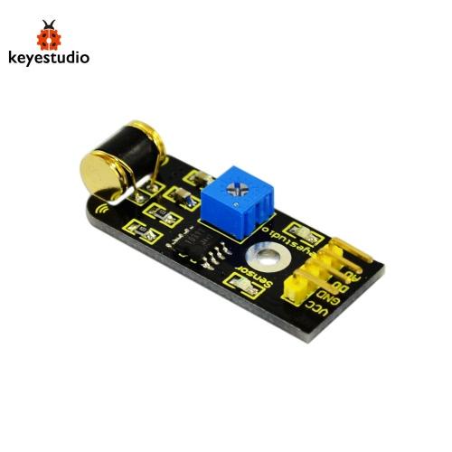 Brand New Keyestudio Vibration Sensor Module For Arduino - BlackTest Equipment &amp; Tools<br>Brand New Keyestudio Vibration Sensor Module For Arduino - Black<br>