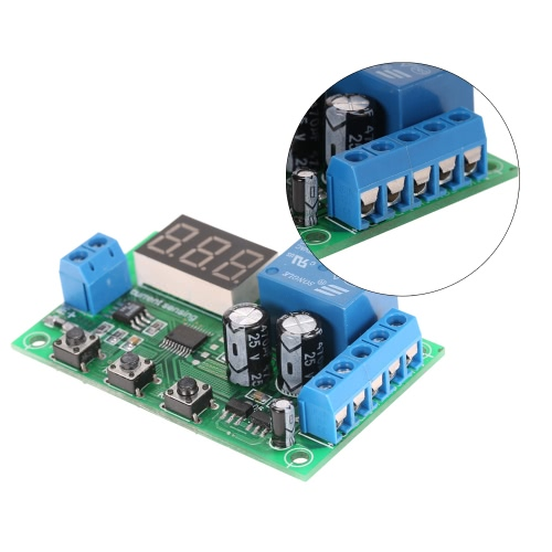 12V 0-10A DC Current Detection Module Current Sensing Detecting Delay Relay ControlTest Equipment &amp; Tools<br>12V 0-10A DC Current Detection Module Current Sensing Detecting Delay Relay Control<br>