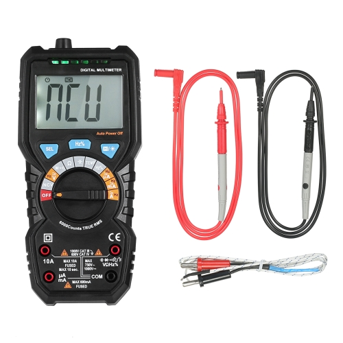 BSIDE 6000 Counts Auto Range True RMS Multi-functional Digital Multimeter DMM with NCV Detector DC AC Voltage Current Meter   ResiTest Equipment &amp; Tools<br>BSIDE 6000 Counts Auto Range True RMS Multi-functional Digital Multimeter DMM with NCV Detector DC AC Voltage Current Meter   Resi<br>