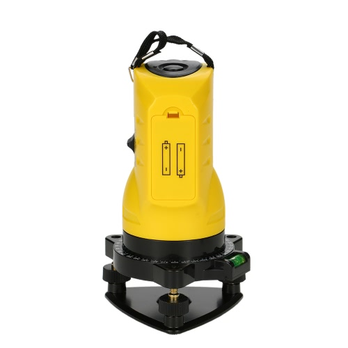 Household 2 Lines Cross Laser Level 360 Rotary Cross Line Leveling Can Be Used with Outdoor Receiver Vertical &amp; HorizontalTest Equipment &amp; Tools<br>Household 2 Lines Cross Laser Level 360 Rotary Cross Line Leveling Can Be Used with Outdoor Receiver Vertical &amp; Horizontal<br>