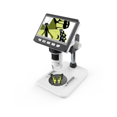 inskam307 Portable Desktop LCD Digital Microscope