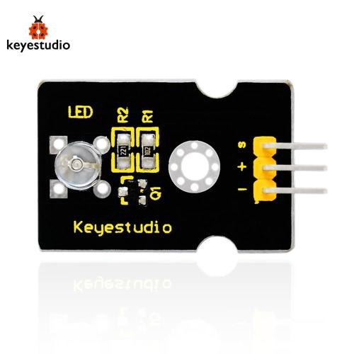 Brand New Keyestudio Digital White LED Light Module Compatible Board for Arduino - BlackTest Equipment &amp; Tools<br>Brand New Keyestudio Digital White LED Light Module Compatible Board for Arduino - Black<br>