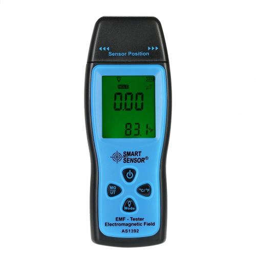 SMART SENSOR Handheld Mini Digital LCD EMF Tester Electromagnetic Field Radiation Detector Meter Dosimeter Tester CounterTest Equipment &amp; Tools<br>SMART SENSOR Handheld Mini Digital LCD EMF Tester Electromagnetic Field Radiation Detector Meter Dosimeter Tester Counter<br>