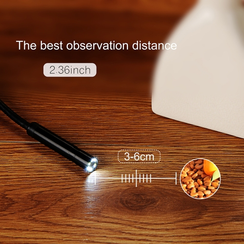 KKmoon 8.5mm Wireless Endoscope WiFi Borescope Waterproof Inspection Camera HD 2.0 Megapixels CMOS with 6pcs Adjustable LED LightsTest Equipment &amp; Tools<br>KKmoon 8.5mm Wireless Endoscope WiFi Borescope Waterproof Inspection Camera HD 2.0 Megapixels CMOS with 6pcs Adjustable LED Lights<br>