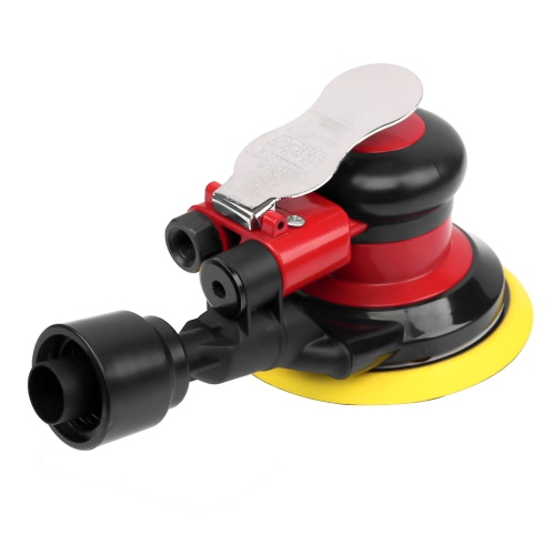 6 12000RPM Air Random Orbital Sander Pneumatic Polisher Self-Vacuum Orbit Polisher Dual Action Polishing Grinding Sanding WaxingTest Equipment &amp; Tools<br>6 12000RPM Air Random Orbital Sander Pneumatic Polisher Self-Vacuum Orbit Polisher Dual Action Polishing Grinding Sanding Waxing<br>