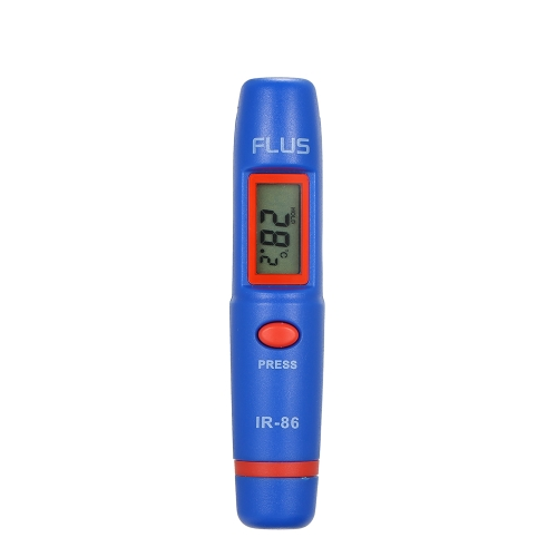 Pen Type Mini Infrared Thermometer Portable Non-Contact Digital IR Temperature Measuring LCD Display Measuring ToolsTest Equipment &amp; Tools<br>Pen Type Mini Infrared Thermometer Portable Non-Contact Digital IR Temperature Measuring LCD Display Measuring Tools<br>