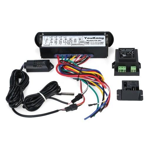 YouKongデジタル温湿度コントローラサーモスタットHygrostat