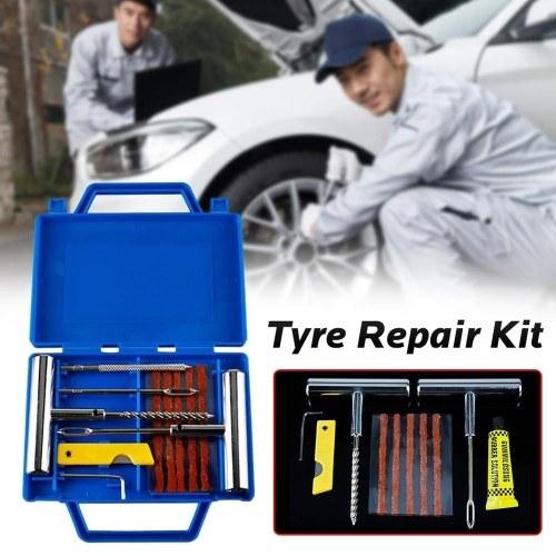 12pcs Motorcycle Car Bike Emergency Tire Repair Tool Kit