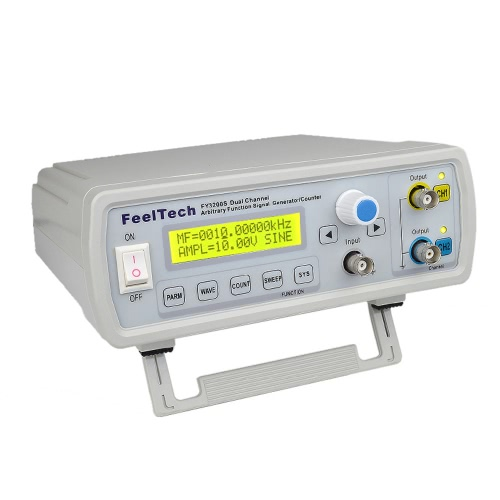 High Precision Digital DDS Dual-channel Function Signal Source Generator Arbitrary Waveform/Pulse Frequency Meter 12Bits 250MSa/sTest Equipment &amp; Tools<br>High Precision Digital DDS Dual-channel Function Signal Source Generator Arbitrary Waveform/Pulse Frequency Meter 12Bits 250MSa/s<br>