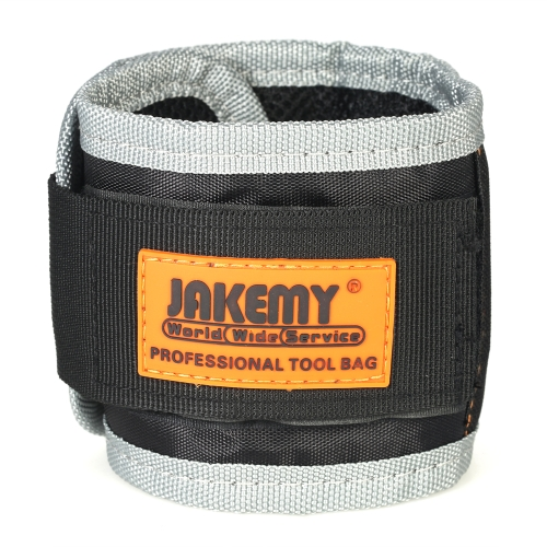 JAKEMY JM-X5 14.6 Magnetic Wristband Band Belt Pocket Tool for Holding Screws Nails Drills Repair ToolsTest Equipment &amp; Tools<br>JAKEMY JM-X5 14.6 Magnetic Wristband Band Belt Pocket Tool for Holding Screws Nails Drills Repair Tools<br>