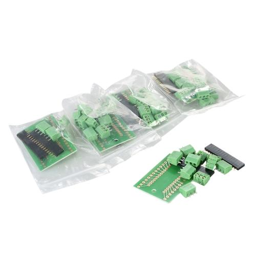5pcs Screw Terminal NANO IO Shield V1.O Expansion Adapter Board Module Shield Kit for ArduinoTest Equipment &amp; Tools<br>5pcs Screw Terminal NANO IO Shield V1.O Expansion Adapter Board Module Shield Kit for Arduino<br>