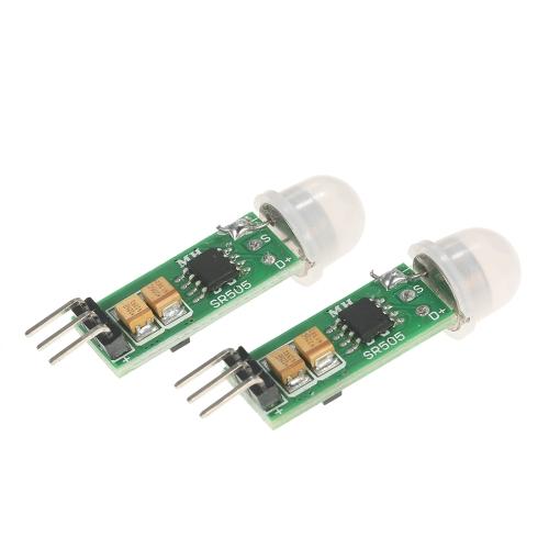 2pcs HC-SR505 Infrared PIR Motion Sensor Precise Detector Module for ArduinoTest Equipment &amp; Tools<br>2pcs HC-SR505 Infrared PIR Motion Sensor Precise Detector Module for Arduino<br>