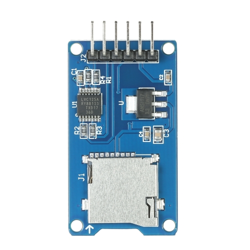 3PCS Micro SD SDHC Shield TF Card Memory Shield Module 6 Pin SPI for ArduinoTest Equipment &amp; Tools<br>3PCS Micro SD SDHC Shield TF Card Memory Shield Module 6 Pin SPI for Arduino<br>