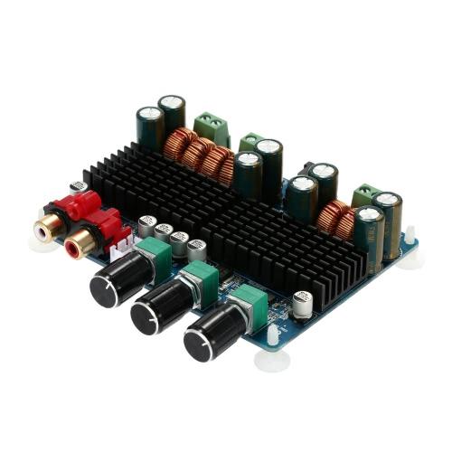 TPA3116 50 w * 2 + 100 w 2.1 チャネル デジタル サブウーファー電源アンプ基板 DC12V-26V