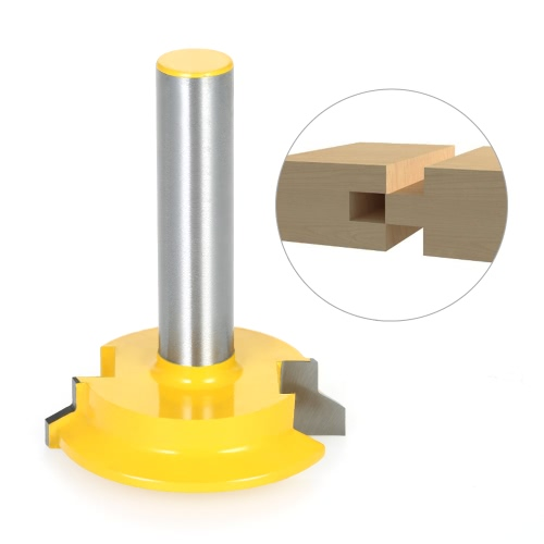 1/2 Shank Drawer Front Joint Straight Rail &amp; Stile Router Bit Milling Cutter Chisel Cutter Tool Woodworking Tools ReversibleTest Equipment &amp; Tools<br>1/2 Shank Drawer Front Joint Straight Rail &amp; Stile Router Bit Milling Cutter Chisel Cutter Tool Woodworking Tools Reversible<br>