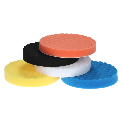 5PCS Brand New 3 80mm/4 100mm/5 125mm/6 150mm/7 180mm Car Polishing Pads Waxing Buffing Pad Sponge Kit Set for Car Polisher BTest Equipment &amp; Tools<br>5PCS Brand New 3 80mm/4 100mm/5 125mm/6 150mm/7 180mm Car Polishing Pads Waxing Buffing Pad Sponge Kit Set for Car Polisher B<br>