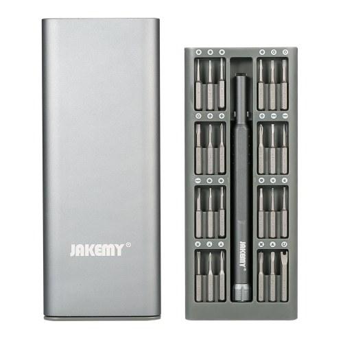 JAKEMY JM-8168 24 in 1 Набор отверток S-2 Bits Прецизионный магнитный отверток