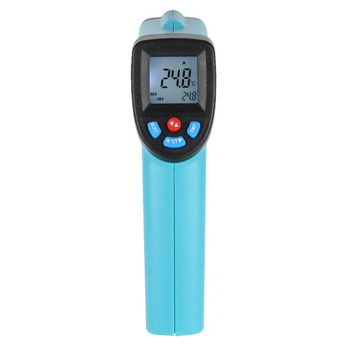 RICHMETERS GM550 -50~550°C 12:1 Handheld Non-contact Digital Infrared IR Thermometer Temperature Tester Pyrometer LCD Display withTest Equipment &amp; Tools<br>RICHMETERS GM550 -50~550°C 12:1 Handheld Non-contact Digital Infrared IR Thermometer Temperature Tester Pyrometer LCD Display with<br>