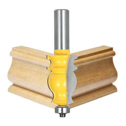 1/2 Shank Architectural Molding Router Bit Anti-kickback Mitered Trimming Milling Cutter Tool Carpenter Woodworking ToolsTest Equipment &amp; Tools<br>1/2 Shank Architectural Molding Router Bit Anti-kickback Mitered Trimming Milling Cutter Tool Carpenter Woodworking Tools<br>