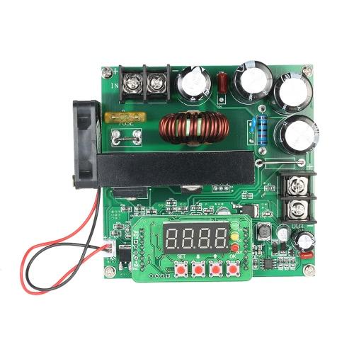 900Wデジタル制御DC-DCブーストモジュール0-15A IN 8-60V OUT 10-120Vステップアップコンバータ電源のCC / CV LEDディスプレイ