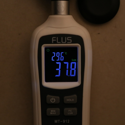 Handheld Digital Light Illuminance Meter Portable Ambient Temperature Measurer with Range up to 200,000 Lux LCD Screen Backlight MTest Equipment &amp; Tools<br>Handheld Digital Light Illuminance Meter Portable Ambient Temperature Measurer with Range up to 200,000 Lux LCD Screen Backlight M<br>