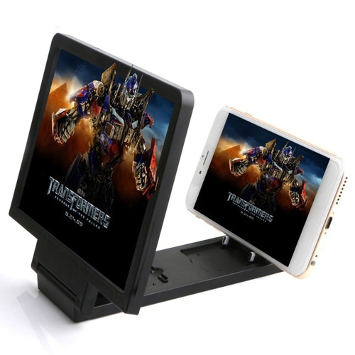 Mobile Phone Screen Magnifier 3D Video Magnifying Glass Eye Protector Multi-function Smart-phone Bracket