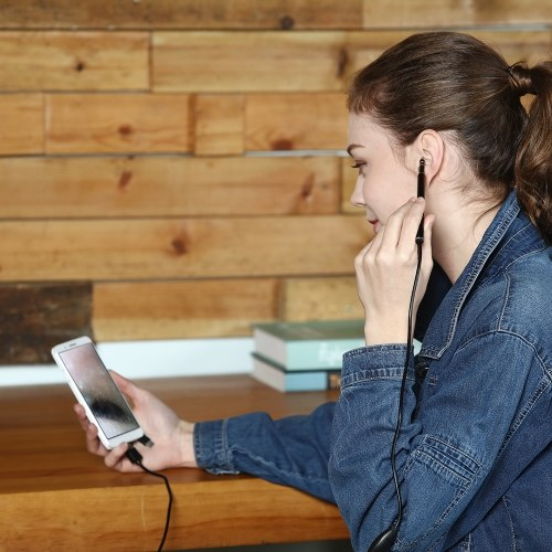Беспроводная ушная ушная ухо Earpick Endoscope 5.5mm 720P Объектив Earwax Clean Tool Ухо Нос Медицинская камера для осмотра борескопов HD 1.3MP Визуальная ухо Spoon Health Care Чистые инструменты для снятия Отоскоп для iPhone IOS Android Windows Mac