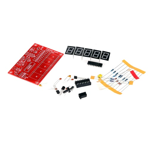 50MHz Crystal Oscillator Frequency Counter Tester DIY Kit 5 Digits ResolutionTest Equipment &amp; Tools<br>50MHz Crystal Oscillator Frequency Counter Tester DIY Kit 5 Digits Resolution<br>