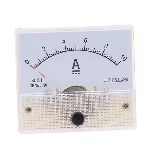 DC0-10A Analog Current Panel Meter Tester Ammeter GaugeTest Equipment &amp; Tools<br>DC0-10A Analog Current Panel Meter Tester Ammeter Gauge<br>
