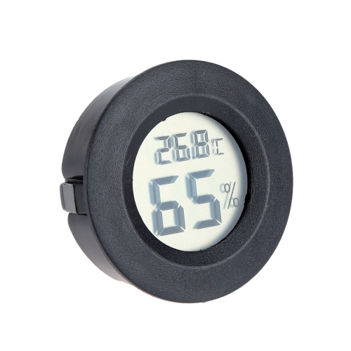 Portable Mini Digital Temperature Humidity Tester Meter Thermometer Hygrometer LCD Display BlackTest Equipment &amp; Tools<br>Portable Mini Digital Temperature Humidity Tester Meter Thermometer Hygrometer LCD Display Black<br>