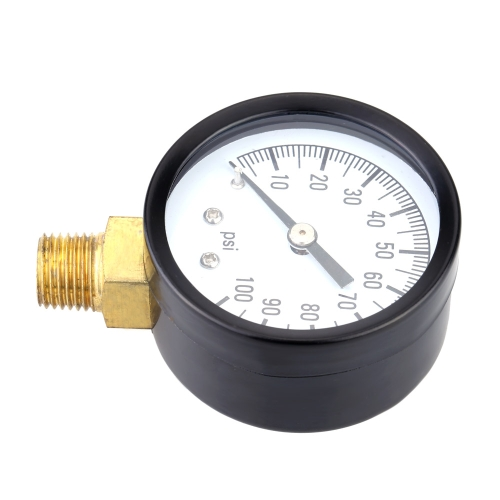 0-100psi Mini Dial Air Pressure Gauge Meter Piezometer Single ScaleTest Equipment &amp; Tools<br>0-100psi Mini Dial Air Pressure Gauge Meter Piezometer Single Scale<br>