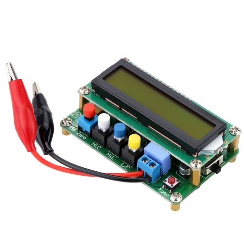 LC100-A Digital LCD High Precision Inductance Capacitance L/C Meter Capacitor Test Mini USB InterfaceTest Equipment &amp; Tools<br>LC100-A Digital LCD High Precision Inductance Capacitance L/C Meter Capacitor Test Mini USB Interface<br>