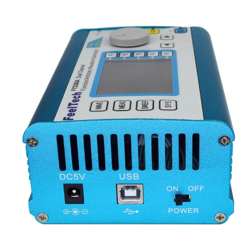 High Precision Digital DDS Dual-channel Multifunction Signal Source Generator Arbitrary Waveform/Pulse Generator Frequency Meter 2Test Equipment &amp; Tools<br>High Precision Digital DDS Dual-channel Multifunction Signal Source Generator Arbitrary Waveform/Pulse Generator Frequency Meter 2<br>