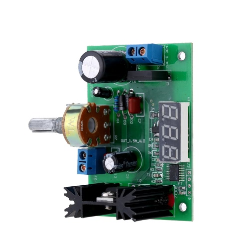 LM317 AC/DC Adjustable Voltage Regulator Step-down Power Supply Module with LED DisplayTest Equipment &amp; Tools<br>LM317 AC/DC Adjustable Voltage Regulator Step-down Power Supply Module with LED Display<br>