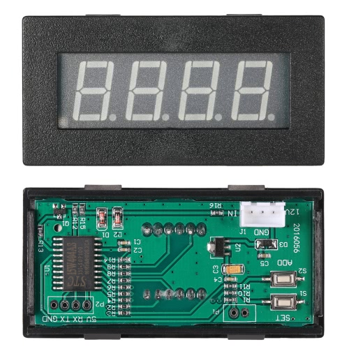 High Precision 0.56 4 LED Digital Frequency Tachometer Car Motor Speed Meter RPM Measurement Tester 5-9999R/M DC 8-15VTest Equipment &amp; Tools<br>High Precision 0.56 4 LED Digital Frequency Tachometer Car Motor Speed Meter RPM Measurement Tester 5-9999R/M DC 8-15V<br>