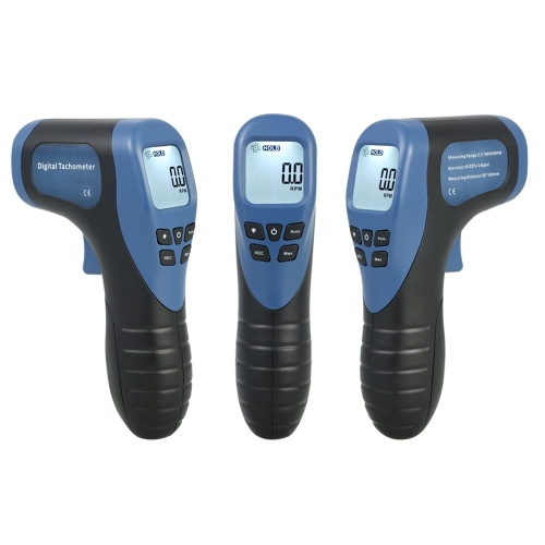 Handheld Digital LCD Photo Tachometer Laser Non-Contact Tach Range 2.5-99999RPM Motor Speed Meter with 1pc Reflective TapeTest Equipment &amp; Tools<br>Handheld Digital LCD Photo Tachometer Laser Non-Contact Tach Range 2.5-99999RPM Motor Speed Meter with 1pc Reflective Tape<br>