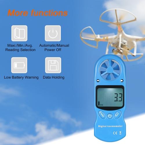 8 in 1 Handheld Digital Anemometer Wind Speed/Temperature/Humidity/Wind Chill/Heat Index/Dew Point/Barometric Pressure/Altitude MeTest Equipment &amp; Tools<br>8 in 1 Handheld Digital Anemometer Wind Speed/Temperature/Humidity/Wind Chill/Heat Index/Dew Point/Barometric Pressure/Altitude Me<br>