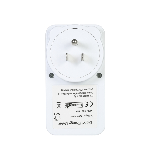 US Plug Plug-in Digital LCD Energy Monitor Power Meter Electricity Electric Usage Monitoring SocketTest Equipment &amp; Tools<br>US Plug Plug-in Digital LCD Energy Monitor Power Meter Electricity Electric Usage Monitoring Socket<br>