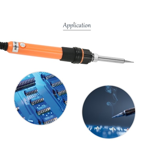 14 in 1 60W Adjustable Temperature Soldering Iron with Temperature Correction Function Soldering Tools Kit with Storage Bag 110V UTest Equipment &amp; Tools<br>14 in 1 60W Adjustable Temperature Soldering Iron with Temperature Correction Function Soldering Tools Kit with Storage Bag 110V U<br>