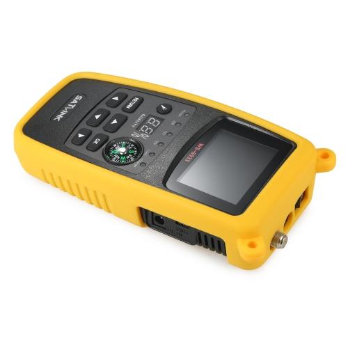 SATLINK WS6933 Digital Satellite Finder Meter with Compass Digital Satellite Signal Finder Meter with LCD DisplayTest Equipment &amp; Tools<br>SATLINK WS6933 Digital Satellite Finder Meter with Compass Digital Satellite Signal Finder Meter with LCD Display<br>