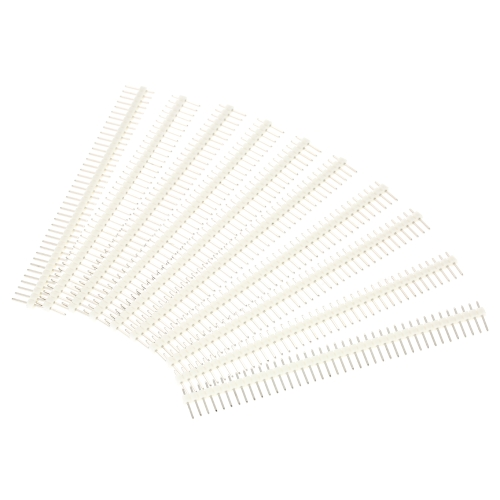 10PCS 2.54mm 40Pin Male Single Row Pin Header Strip for Arduino DIYTest Equipment &amp; Tools<br>10PCS 2.54mm 40Pin Male Single Row Pin Header Strip for Arduino DIY<br>