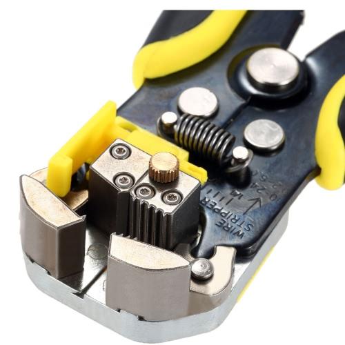 Meterk Multifunctional Automatic Adjustable Cable Wire Stripper Cutter Crimping Tool Peeling PliersTest Equipment &amp; Tools<br>Meterk Multifunctional Automatic Adjustable Cable Wire Stripper Cutter Crimping Tool Peeling Pliers<br>