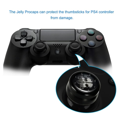 Protective Jelly Procap Analog Thumbstick Grip Anti-slip Cover for PS4 Controller GamepadToys &amp; Hobbies<br>Protective Jelly Procap Analog Thumbstick Grip Anti-slip Cover for PS4 Controller Gamepad<br>