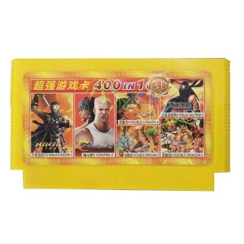 Cartuccia da gioco FC Classic Videogioco da gioco 400 in 1 Console Cartuccia da gioco a 60 bit da 8 bit