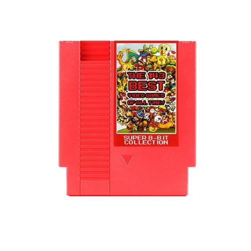 Scheda di gioco NES 143 in 1 Scheda di gioco a 72 bit a 8 bit con funzione di memoria della batteria