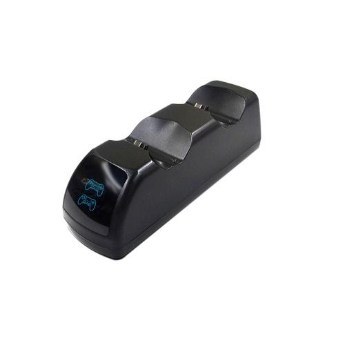ゲームパッドUSB充電器ジョイパッドジョイスティック充電ステーションデュアルUSB高速充電ドック(プレイステーション4用)PS4スリムPS4プロコントローラ