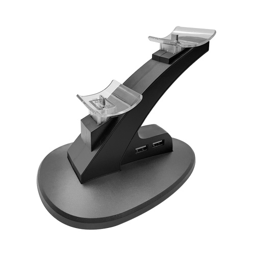 デュアルUSB充電充電器ドックステーションスタンド用プレイステーションスイッチプロコントローラゲームアクセサリー